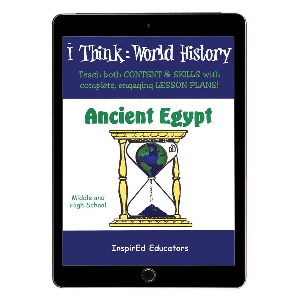 i Think: World History, Ancient Egypt Activity Book