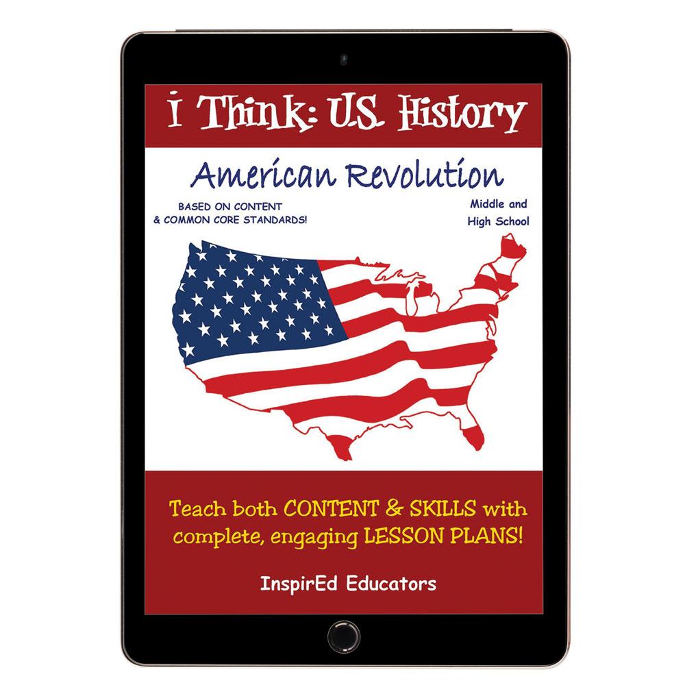 i Think: U.S. History, American Revolution Activity Book