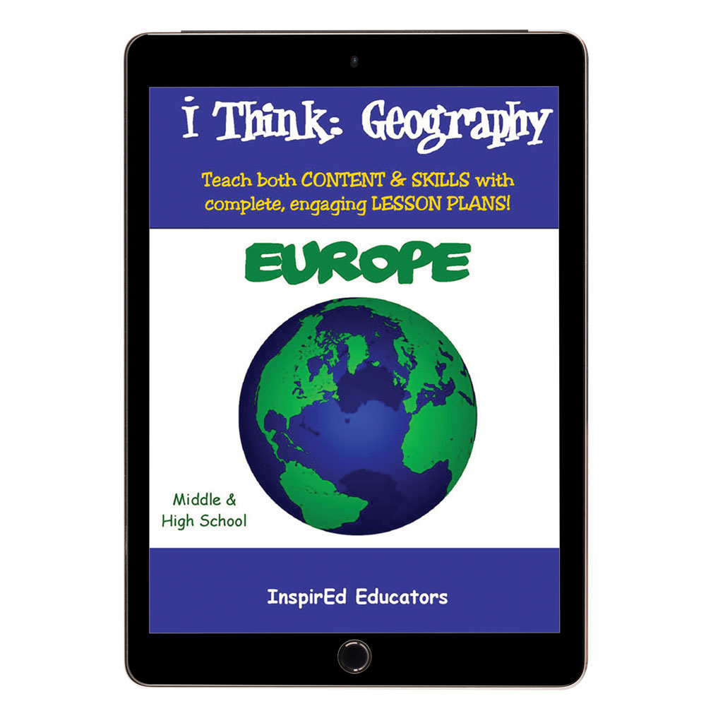 i Think: Geography, Europe Activity Book