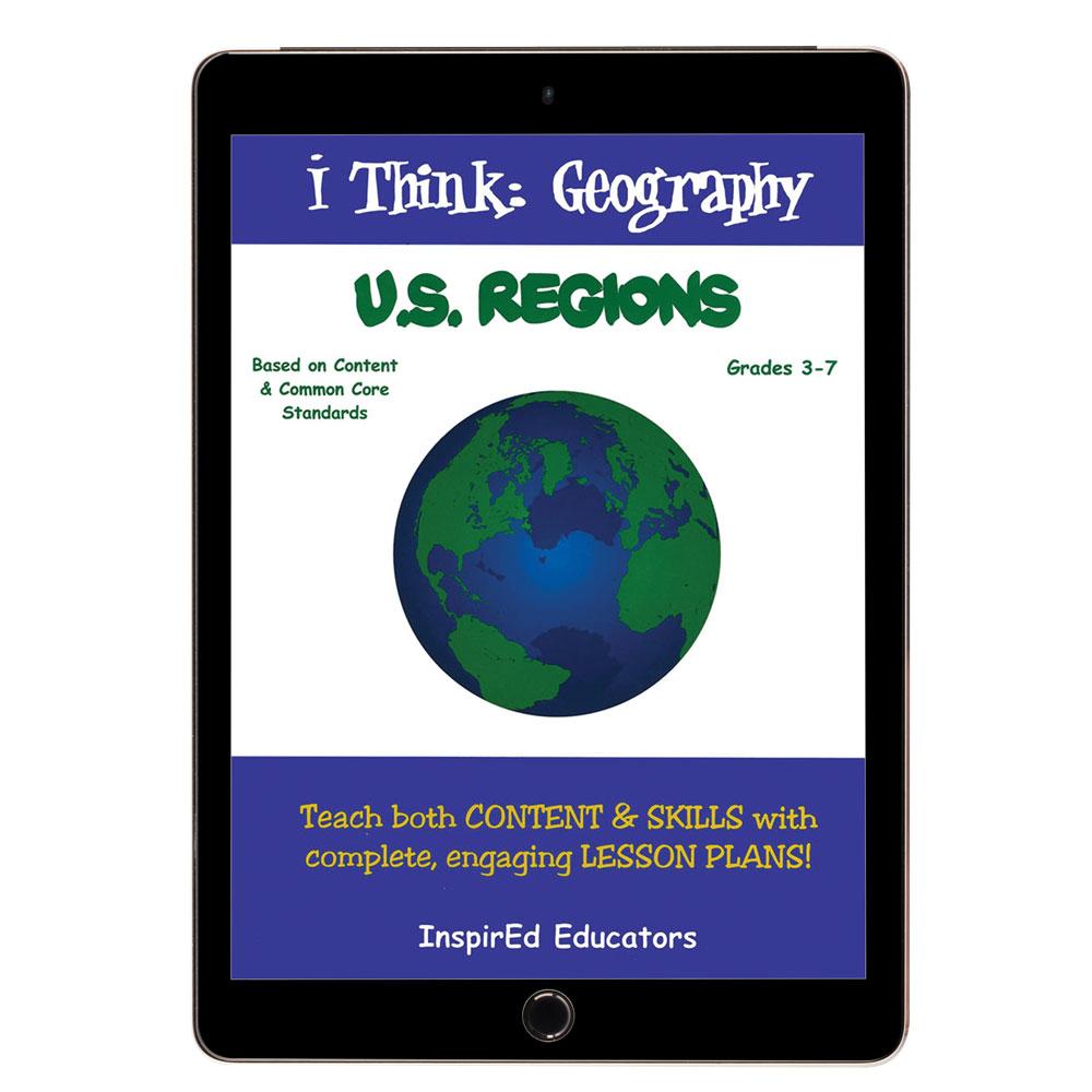 i Think: Geography, U.S. Regions Activity Book