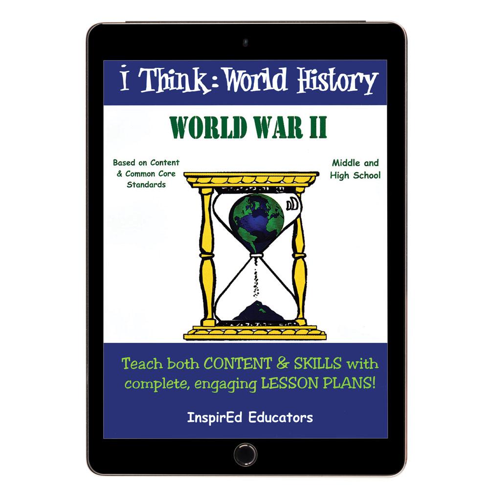 i Think: World History, World War II Activity Book