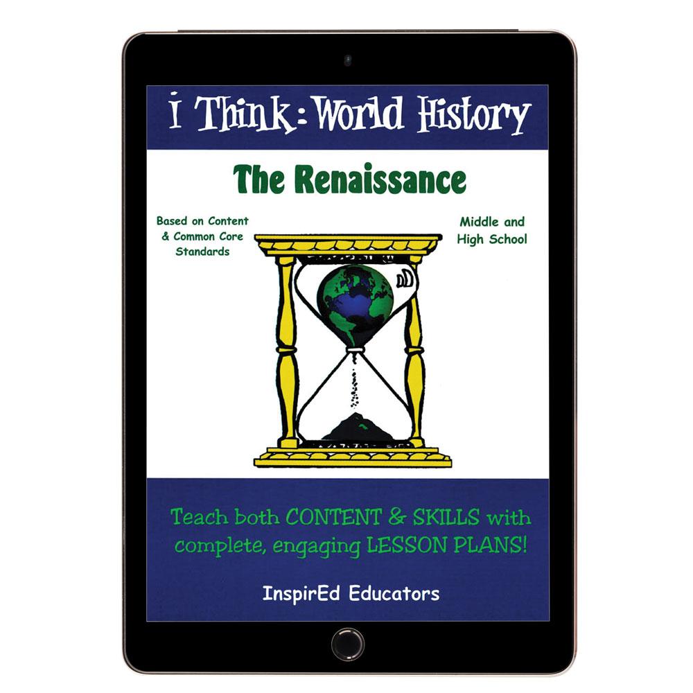 i Think: World History, Renaissance Activity Book