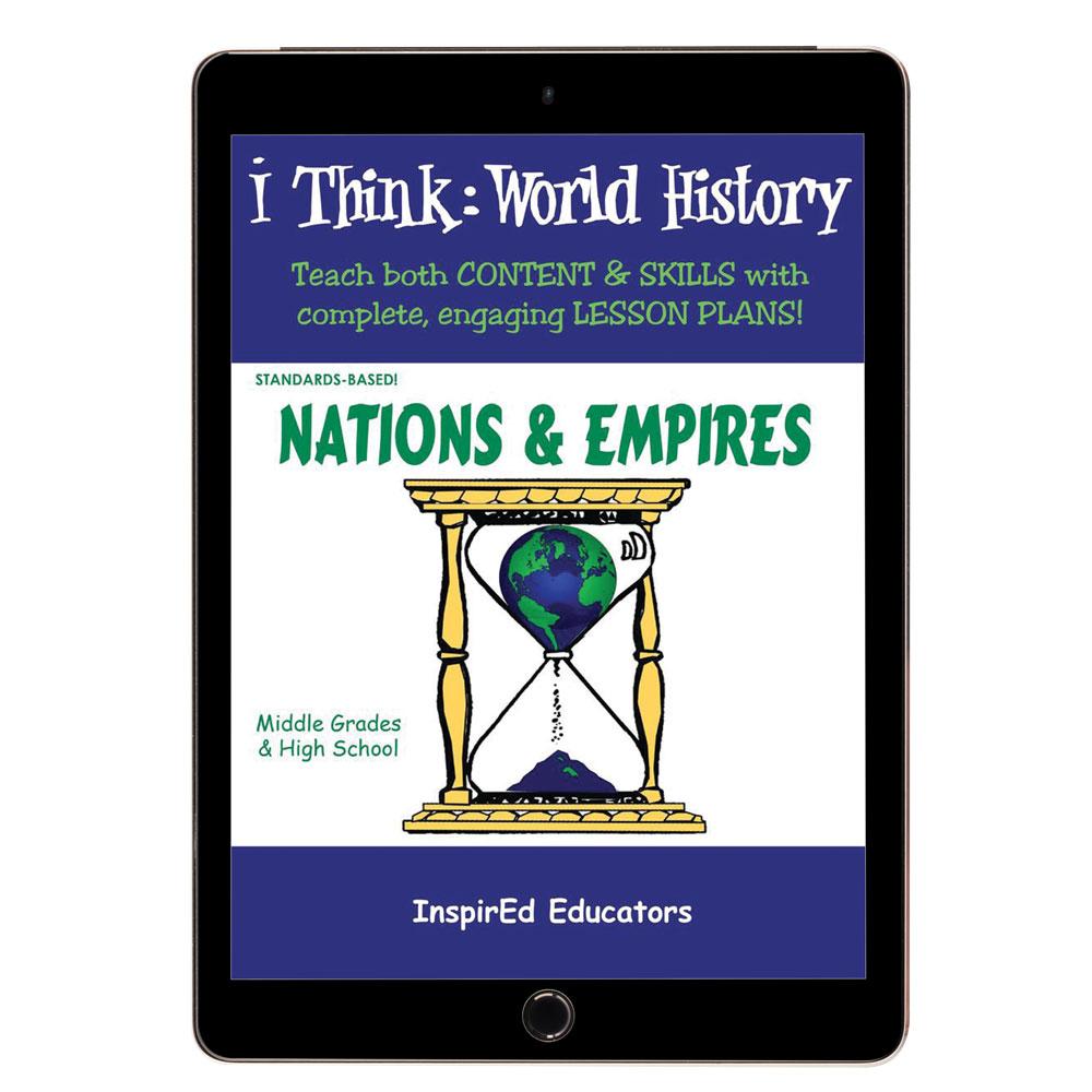 i Think: World History, Nations & Empires Activity Book