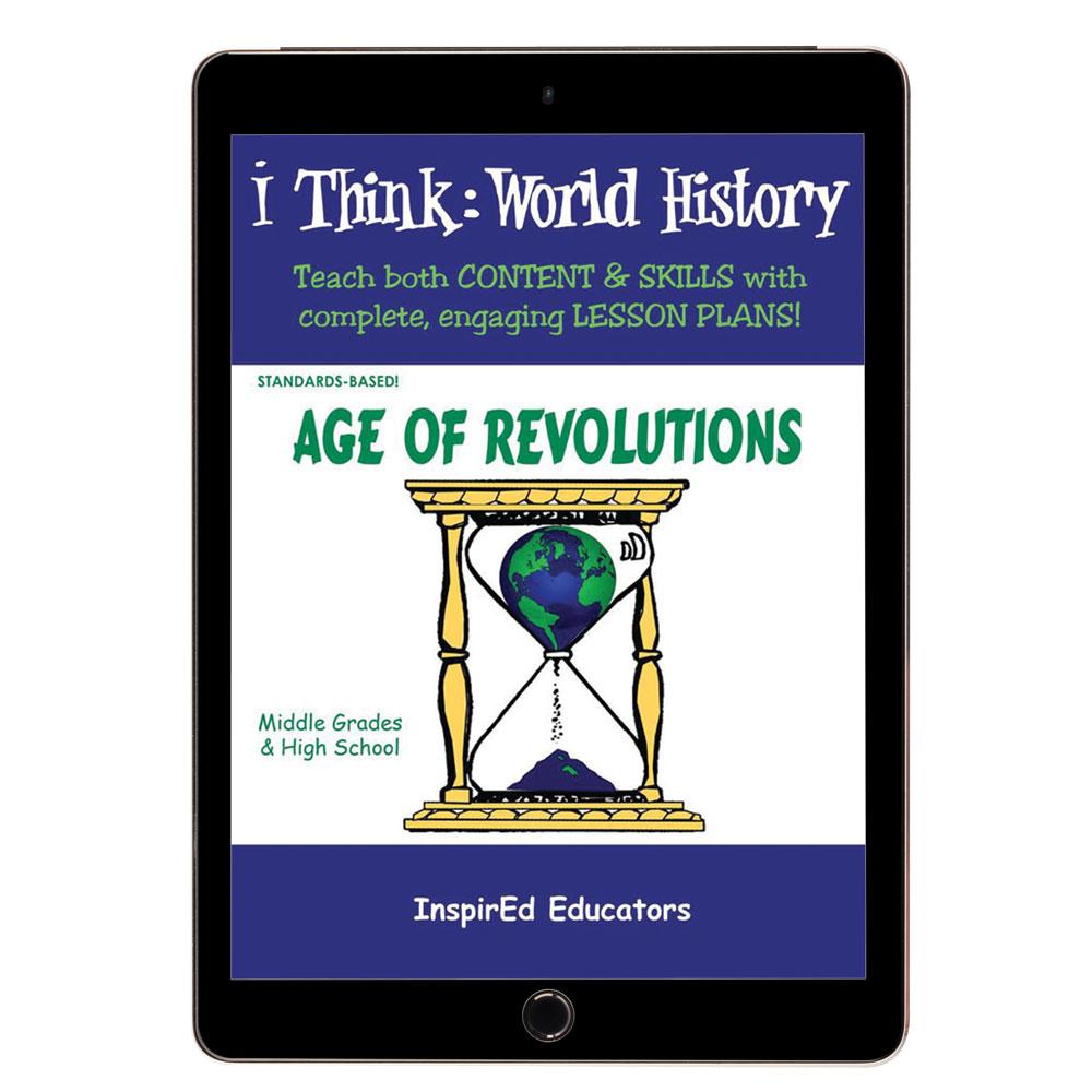 i Think: World History, Age of Revolutions Activity Book
