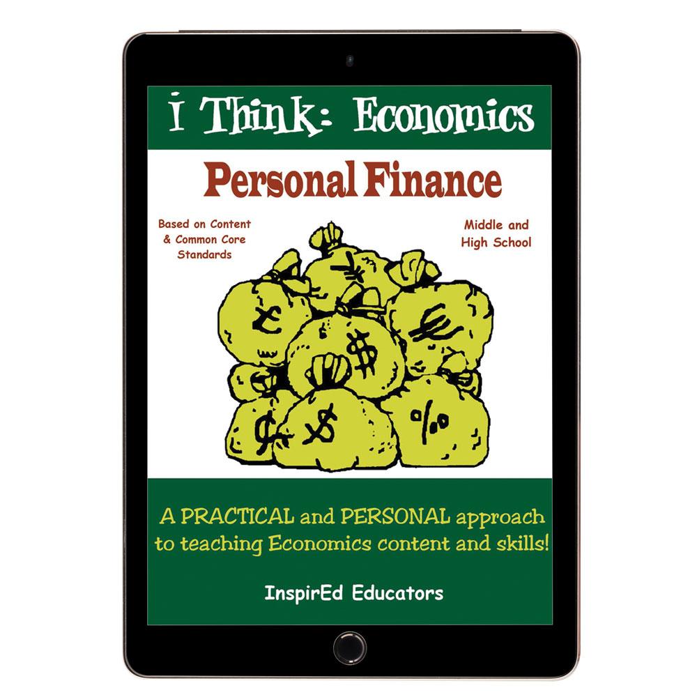 i Think: Economics, Personal Finance Activity Book