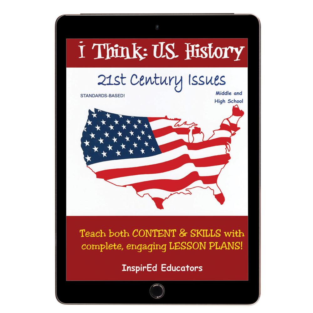 i Think: U.S. History, 21st Century Issues Activity Book