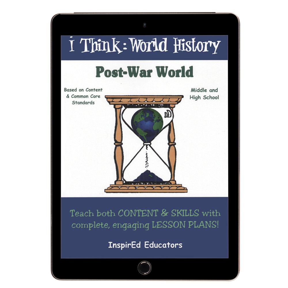 i Think: World History, Post-War World Activity Book