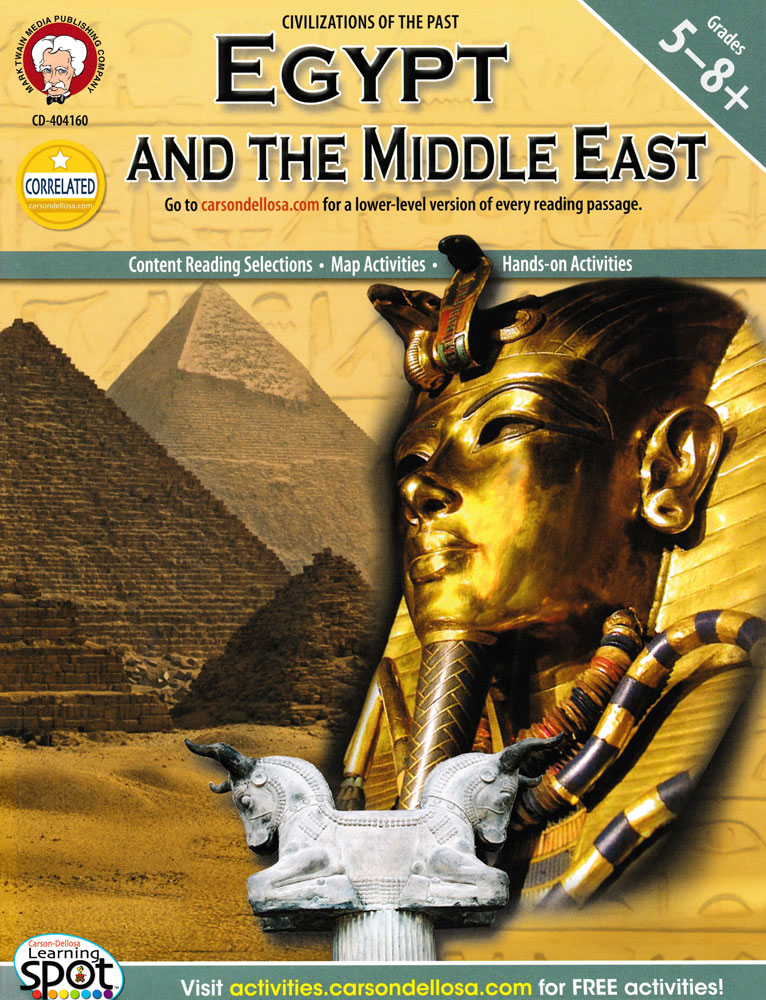 Egypt And The Middle East Activity Book