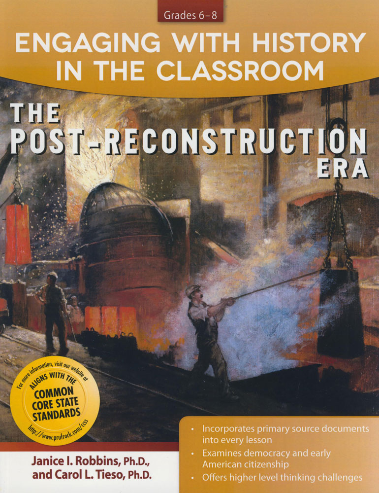 Engaging With History in Classroom - Reconstruction Era Activity Book