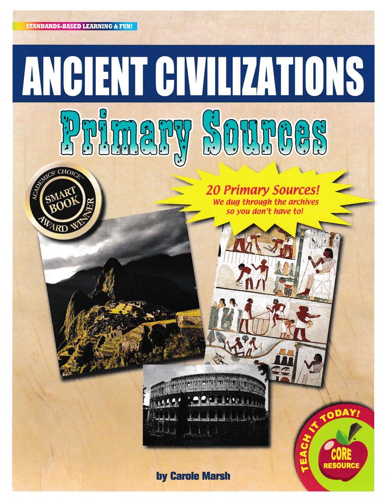 Ancient Civilizations Primary Sources Pack
