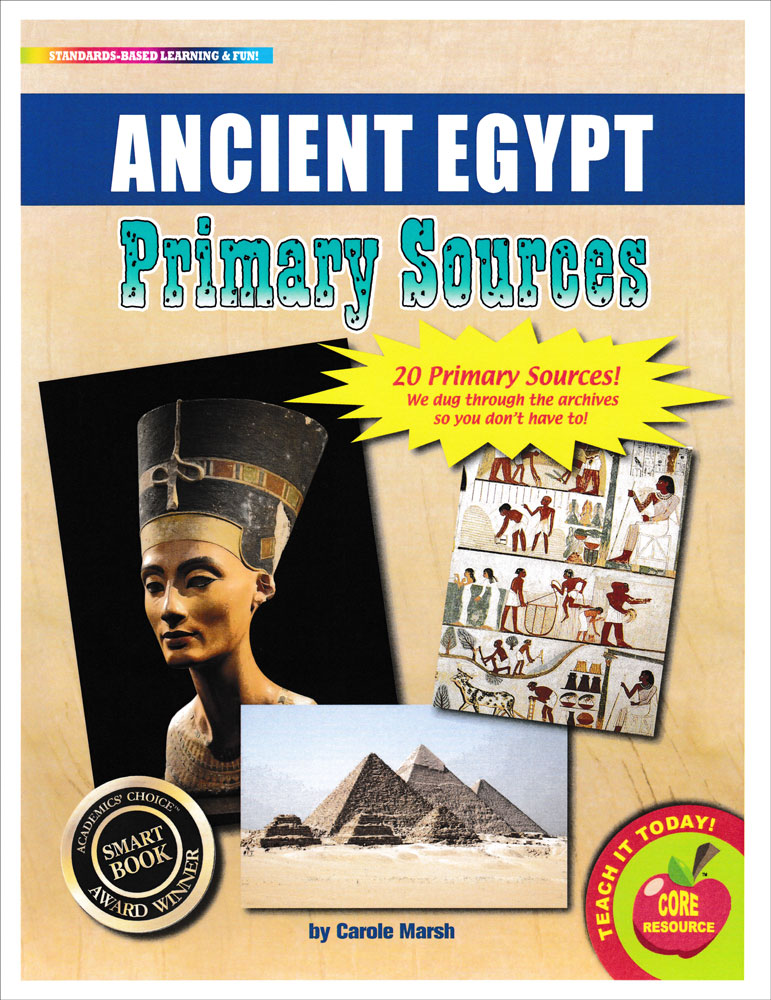 Ancient Egypt Primary Sources Pack