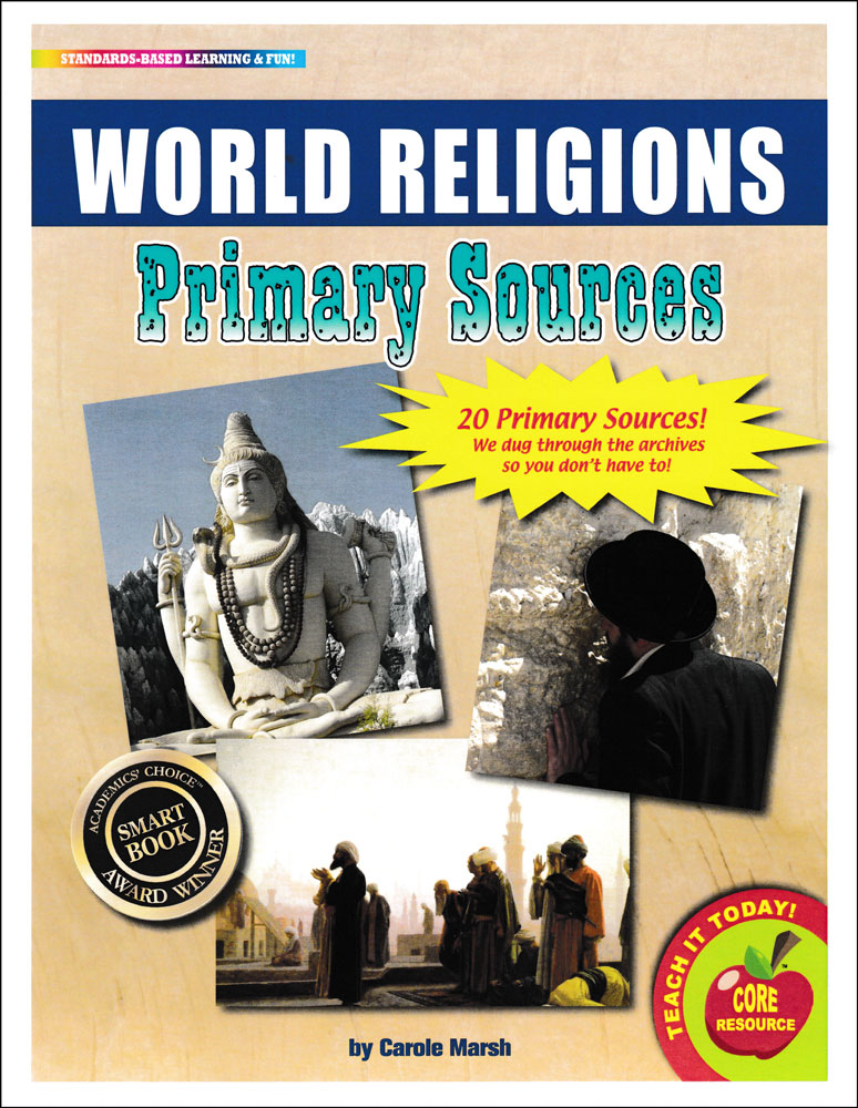 World Religions Primary Sources Pack