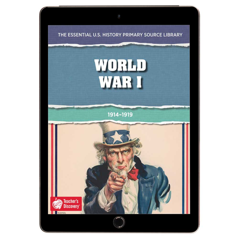 The Essential U.S. History Primary Source Library: World War I Download