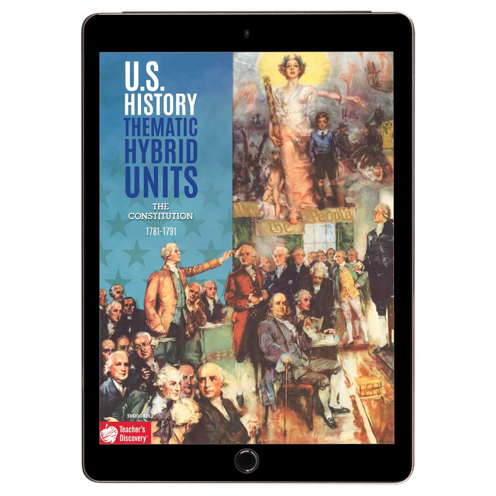 U.S. History Thematic Hybrid Unit: The Constitution Download