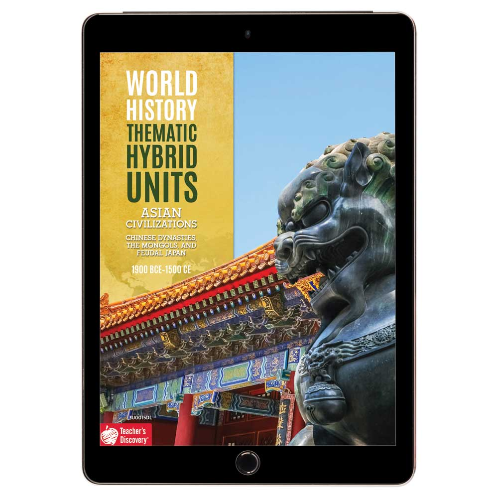 World History Thematic Hybrid Unit: Asian Civilizations Download