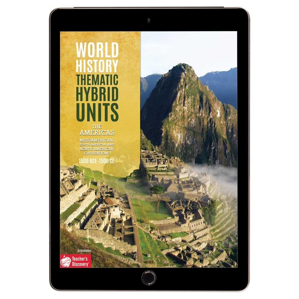 World History Thematic Hybrid Unit: The Americas Download