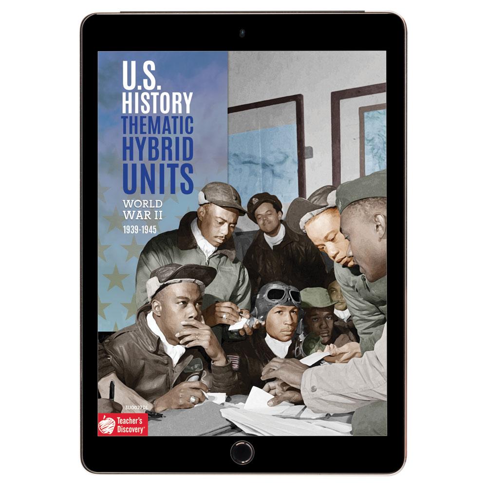 U.S. History Thematic Hybrid Unit: World War II Download