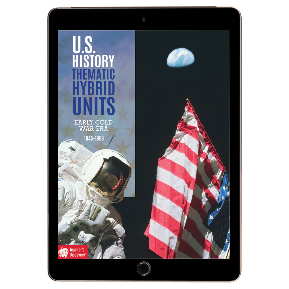 U.S. History Thematic Hybrid Unit: Early Cold War Era Download