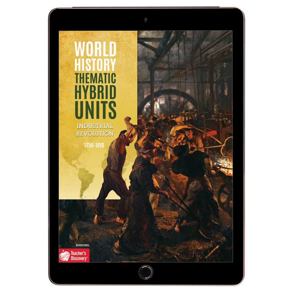 World History Thematic Hybrid Unit: Industrial Revolution Download