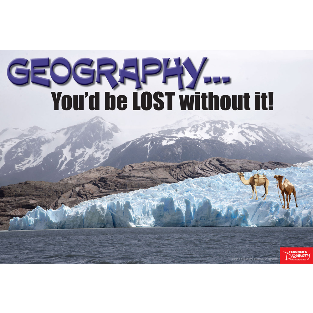 Geography... You'd Be Lost Without It Mini-Poster