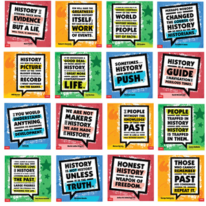 Historians on History Mini-Poster Set of 16