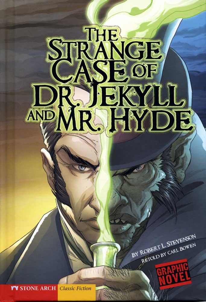 Strange Case of Dr Jekyll And Mr Hyde Graphic Novel