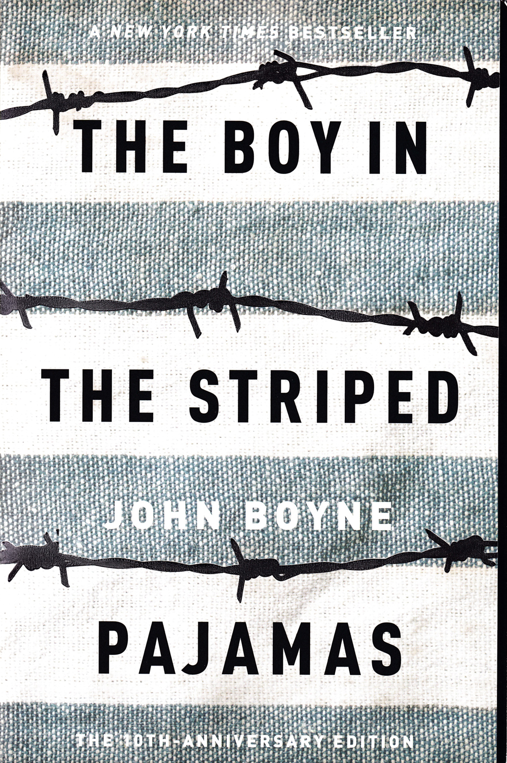 The Boy In The Striped Pajamas Paperback Book (1080L)