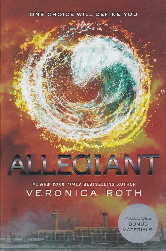 Allegiant Paperback Book (830L)