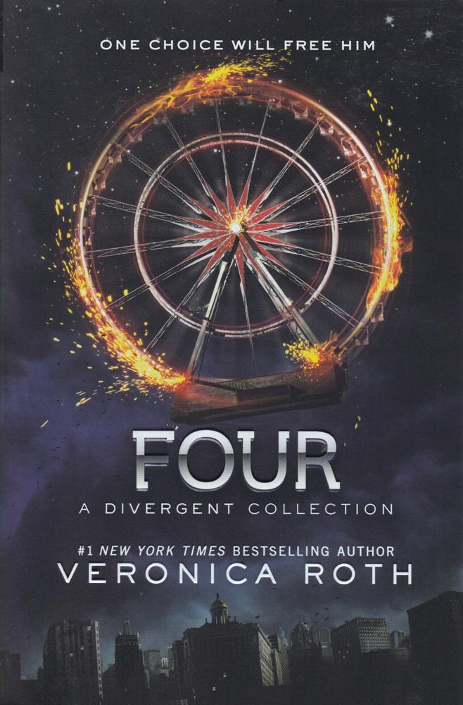 Four: A Divergent Collection Paperback Book (850L)