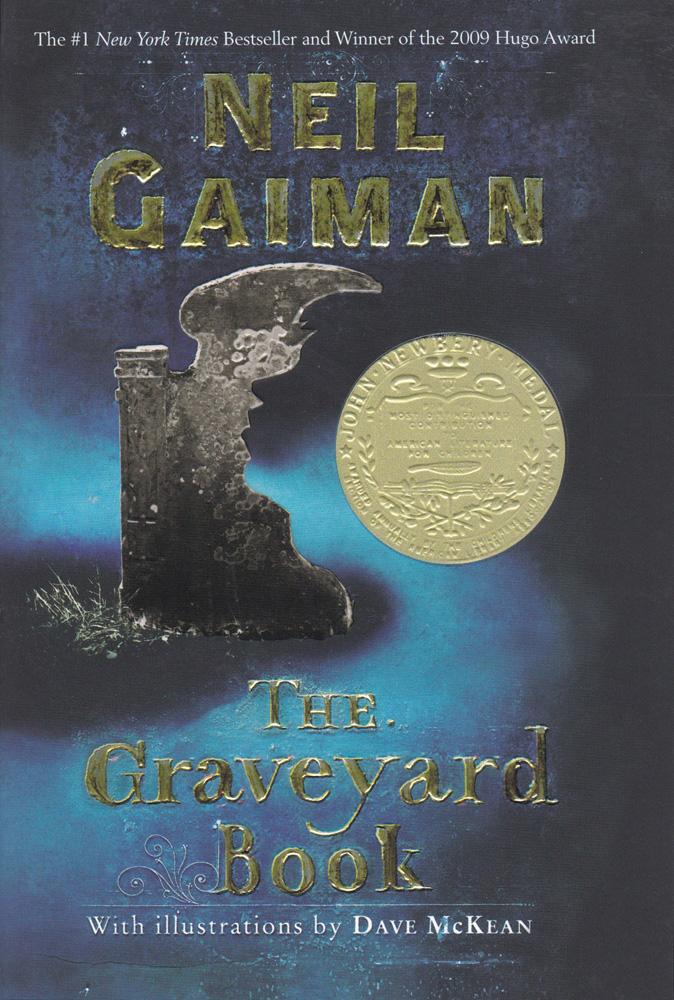 The Graveyard Book Paperback Book (820L)