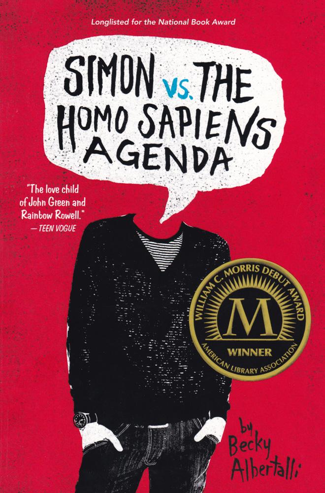 Simon vs. the Homo Sapiens Agenda Paperback Book (HL640L)