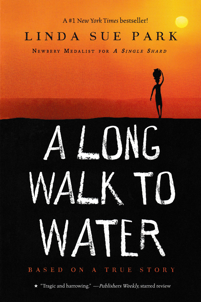 A Long Walk to Water Paperback Book (720L)