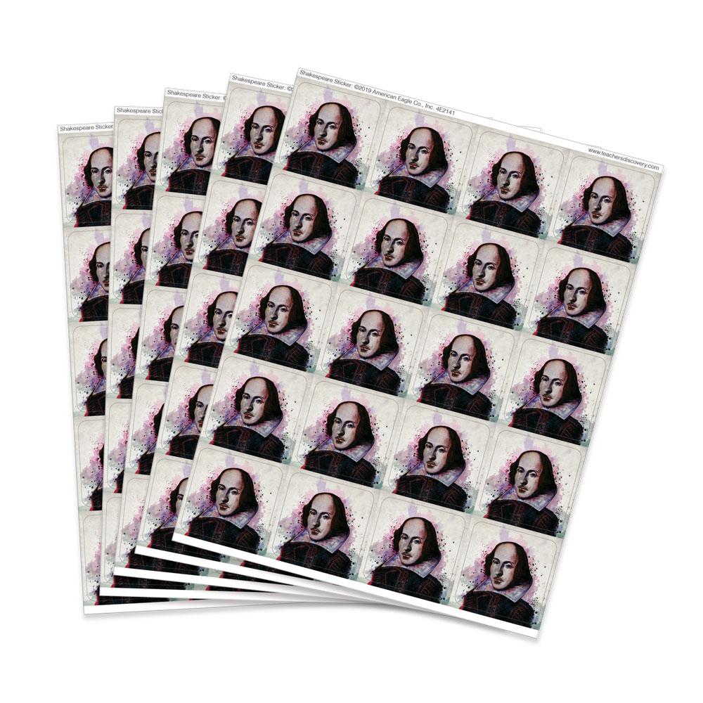 Shakespeare Stickers