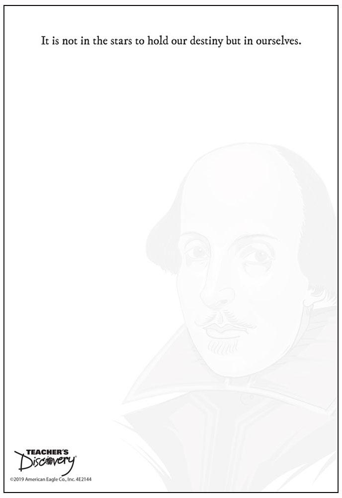 Shakespeare Notepad