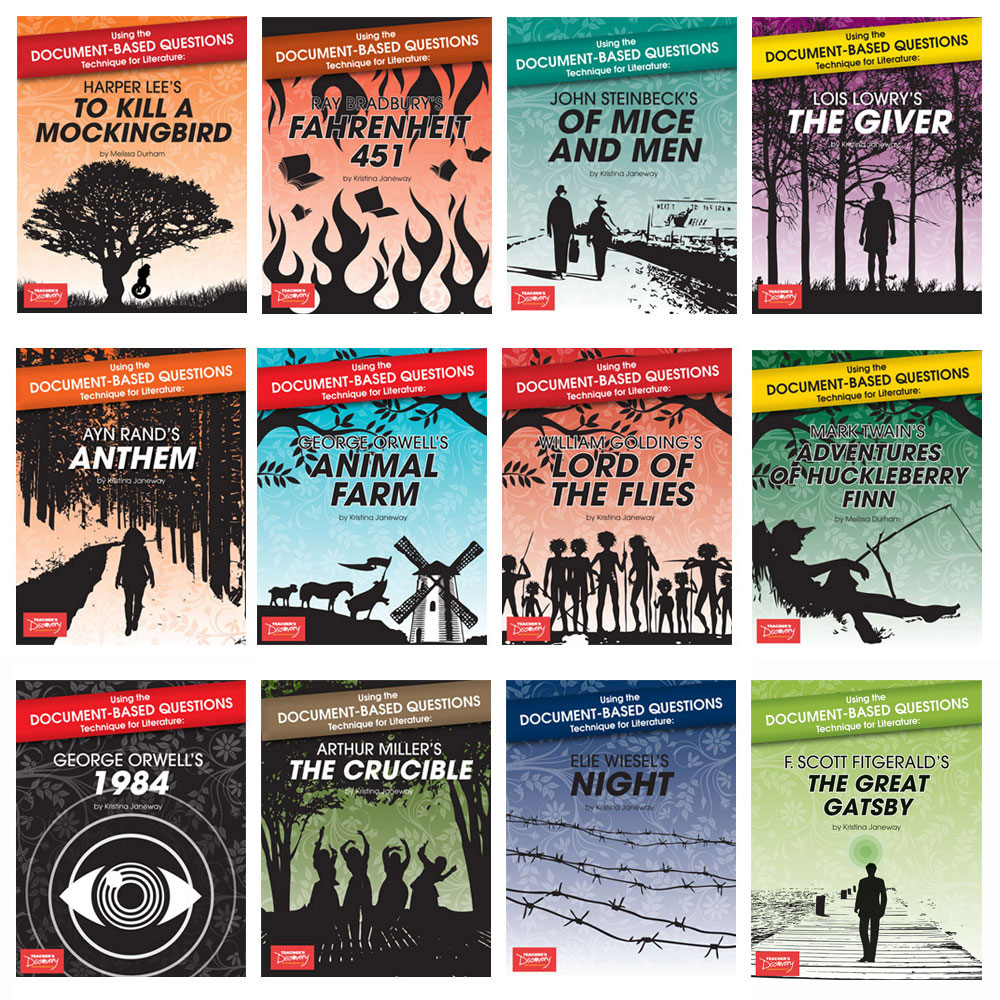 Using the Document-Based Questions Technique for Literature Set of 12 Books