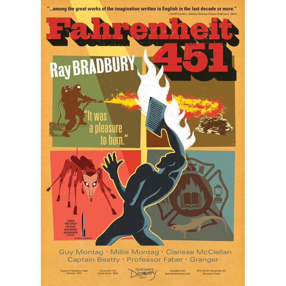 Fahrenheit 451 Marquee Poster
