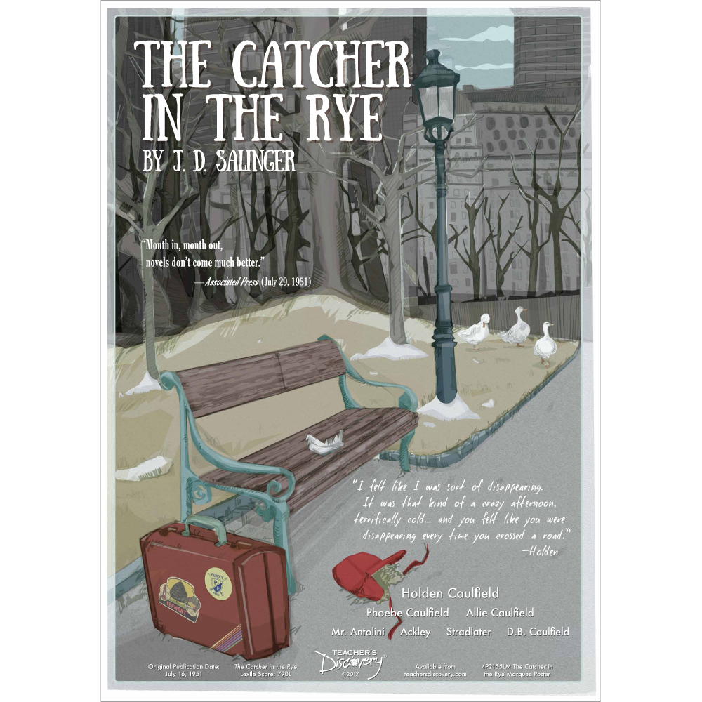 The Catcher in the Rye Marquee Poster