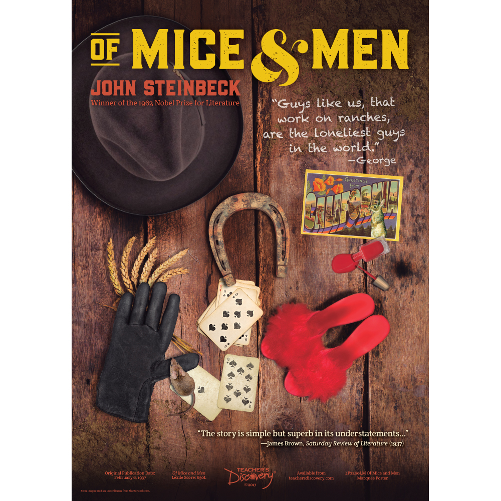Of Mice and Men Marquee Poster