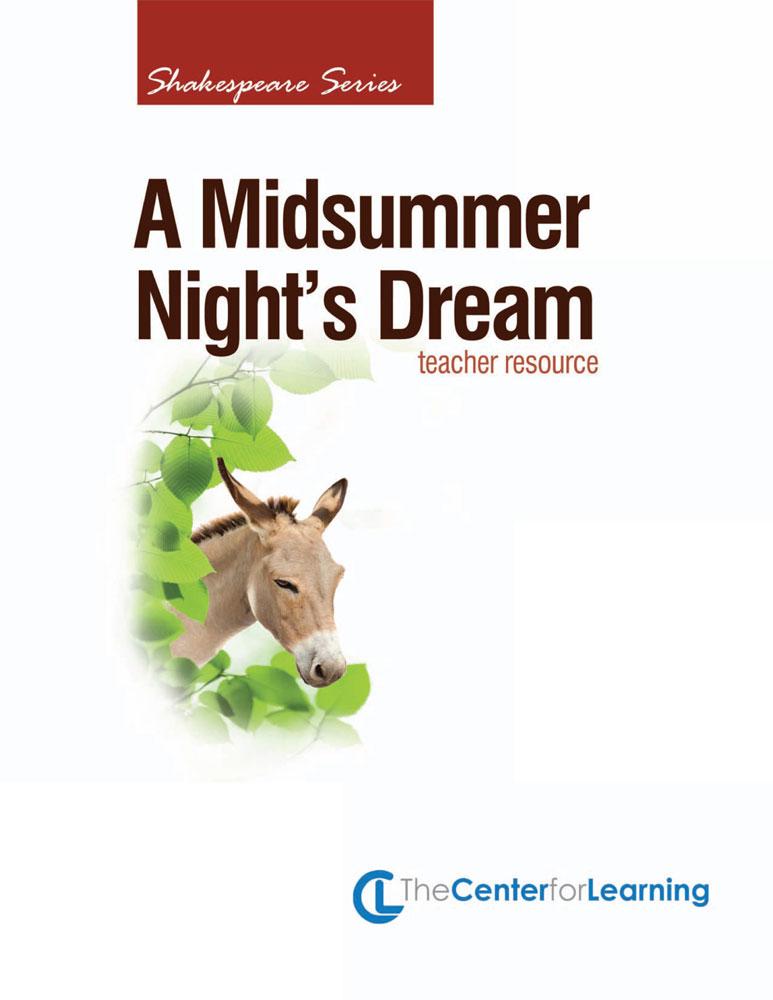 A Midsummer Night's Dream Curriculum Unit