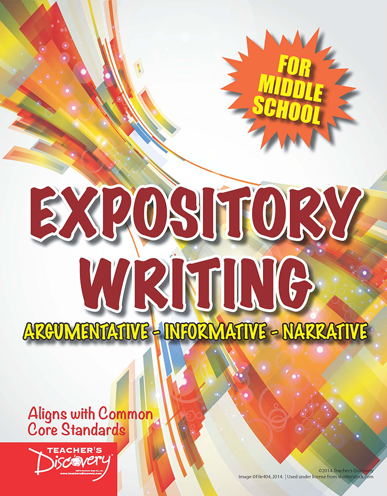 Expository Writing for Middle School Activity Book