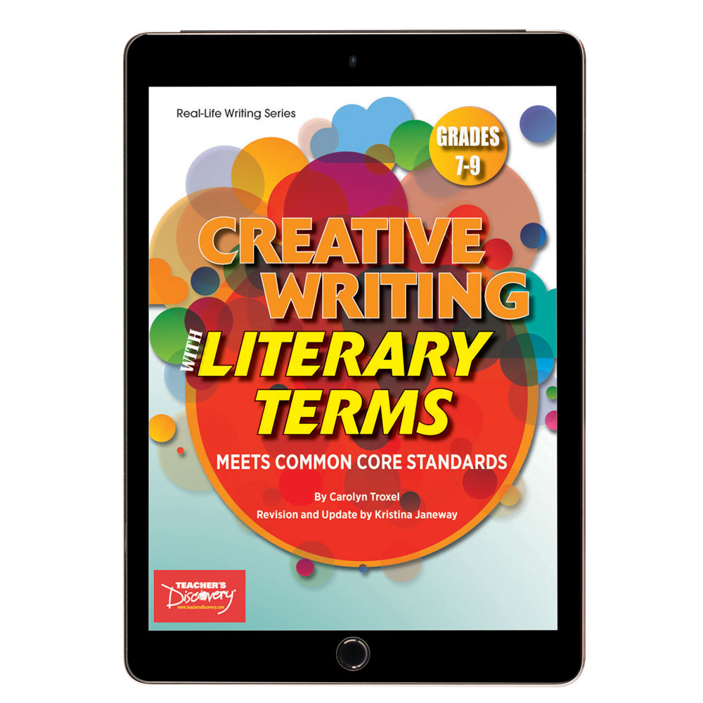 Creative Writing with Literary Terms Activity Book