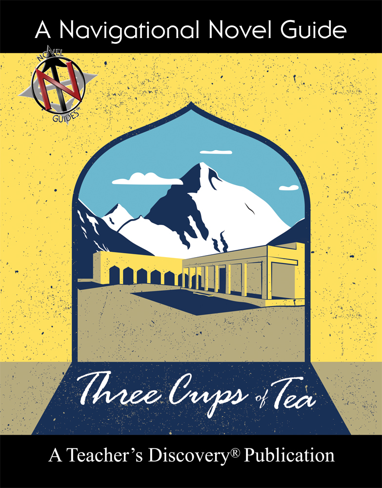 Three Cups of Tea Novel Guide Book