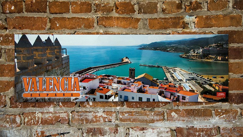 Valencia, Spain Panoramic Poster