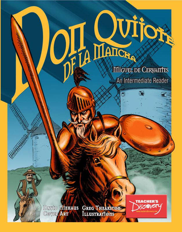 Don Quijote de la Mancha Spanish Level 2–3 Graphic Reader