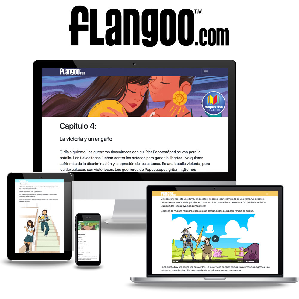 Flangoo™ World Language Digital Readers Subscription