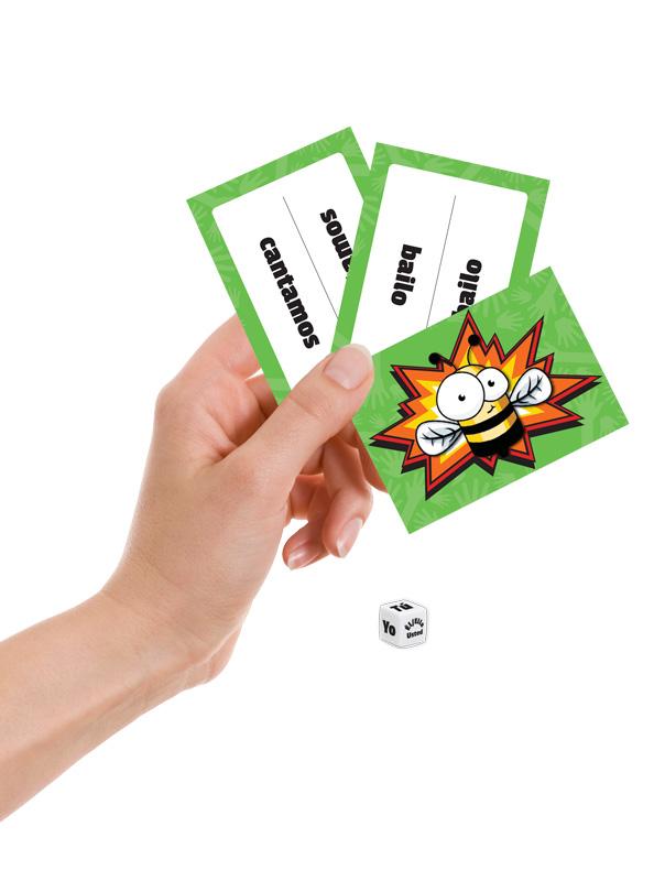 Verb Slap! Spanish Games - Verb Slap! Spanish Preterite Tense Regular Verbs Game
