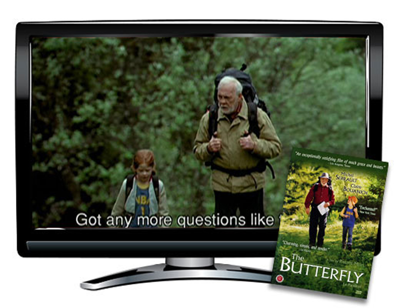 The Butterfly French DVD