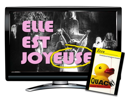 Quack!™ Etre Verbs French Video