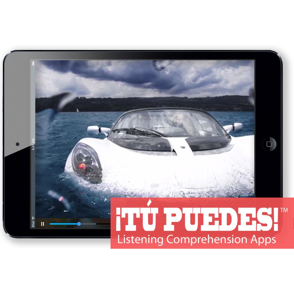 Listening Comprehension App for Digital Learning: Strange Autos
