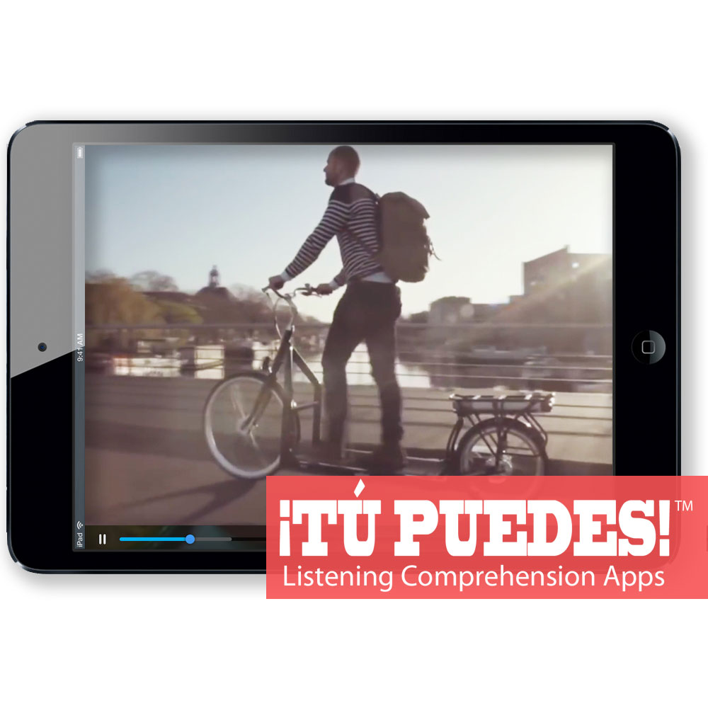 Listening Comprehension App for Digital Learning: Cool Bicycles